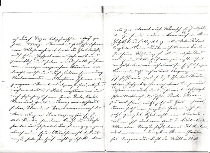 Flora Haas letter to her son #2
